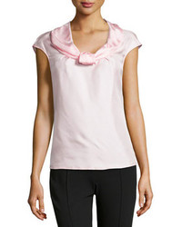 Blusa sin mangas rosada