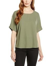 Blusa verde oliva de New Look