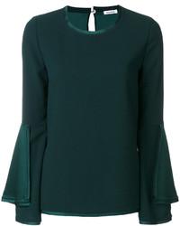 Blusa verde oscuro de P.A.R.O.S.H.