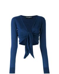 Bolero azul marino de Dolce & Gabbana