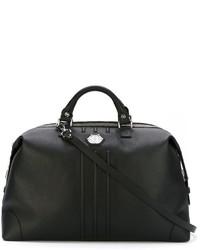 Bolsa de viaje de cuero negra de Philipp Plein