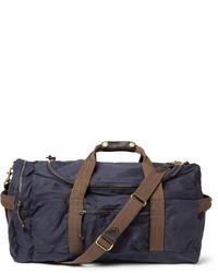 Bolsa de viaje de lona azul marino de J.Crew