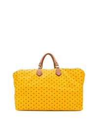 Bolsa de viaje de lona de estrellas amarilla de Fefè