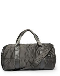 Bolsa de viaje de lona en gris oscuro