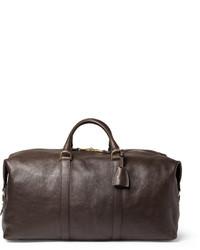 Bolsa de viaje en marrón oscuro