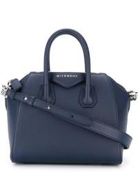 Bolsa tote azul marino de Givenchy