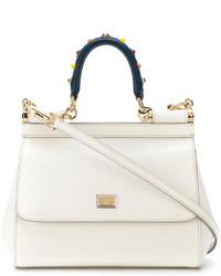 Bolsa Tote Blanca de Dolce & Gabbana