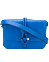 Bolsa tote de cuero azul de Tila March