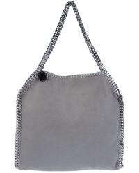 Bolsa tote de cuero gris de Stella McCartney