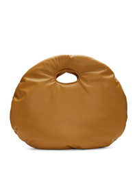 Bolsa tote de cuero marrón claro de A.W.A.K.E. Mode