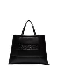 Bolsa tote de cuero negra de Calvin Klein 205W39nyc