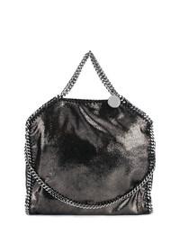 Bolsa tote de cuero negra de Stella McCartney