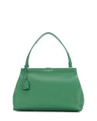 Bolsa tote de cuero verde de Myriam Schaefer