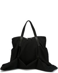 Bolsa Tote de Lana Negra de Yohji Yamamoto