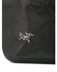 Bolsa tote de lona negra de Arc'teryx