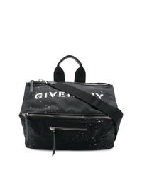 Bolsa tote de lona negra de Givenchy