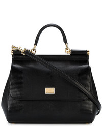 Bolsa tote negra de Dolce & Gabbana
