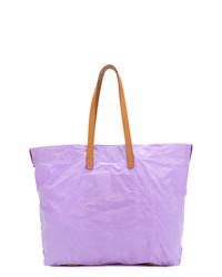 Bolsa tote violeta claro de Ally Capellino