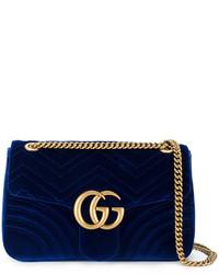 0f829b6f0e Comprar un bolso azul marino Gucci | Moda para Mujeres | Lookastic ...