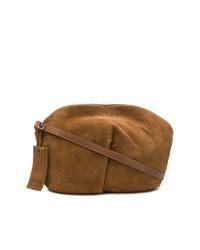 Bolso bandolera de ante marrón de Marsèll