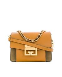Bolso bandolera de cuero amarillo de Givenchy