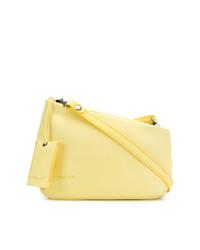 Bolso Bandolera de Cuero Amarillo de Marsèll