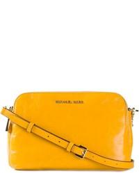 Bolso bandolera de cuero amarillo de MICHAEL Michael Kors