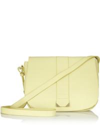 Bolso bandolera de cuero amarillo de See by Chloe