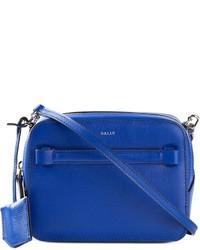 Bolso bandolera de cuero azul de Bally