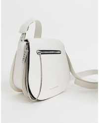 Bolso bandolera de cuero blanco de Juicy Couture