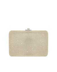 Bolso bandolera de cuero dorado de Judith Leiber Couture