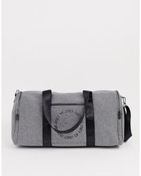 Bolso bandolera de cuero gris de Juicy Couture