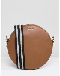 Bolso bandolera de cuero marrón de Max & Co.