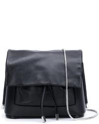 Bolso Bandolera de Cuero Negro de 3.1 Phillip Lim
