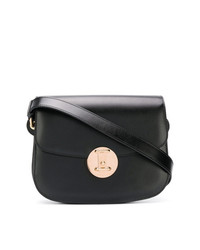 Bolso bandolera de cuero negro de Calvin Klein 205W39nyc