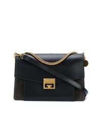 Bolso bandolera de cuero negro de Givenchy