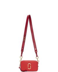Bolso bandolera de cuero rojo de Marc Jacobs