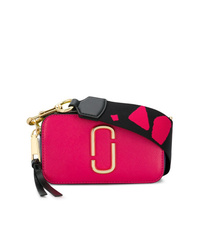 Bolso bandolera de cuero rosa de Marc Jacobs