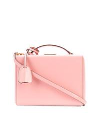 Bolso bandolera de cuero rosado de MARK CROSS