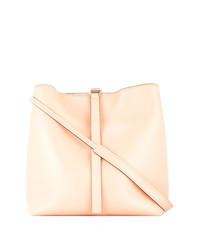 Bolso bandolera de cuero rosado de Proenza Schouler