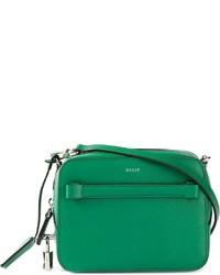 Bolso bandolera de cuero verde de Bally
