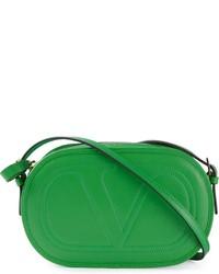 Bolso bandolera de cuero verde de Valentino Garavani