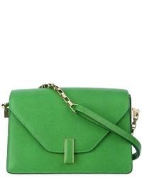 Bolso bandolera de cuero verde de Valextra