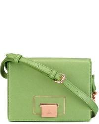 Bolso bandolera de cuero verde de Vivienne Westwood