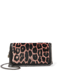 Bolso Bandolera de Leopardo Negro de Stella McCartney
