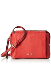 Bolso bandolera rojo de Calvin Klein Jeans