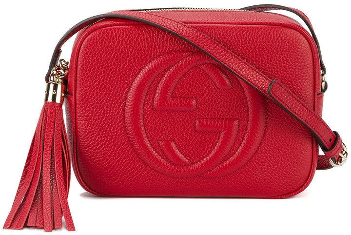 142e50a27 Bolso bandolera rojo de Gucci, €877 | farfetch.com | Lookastic España