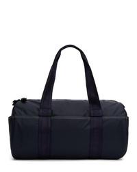 Bolso baúl de lona azul marino de Diesel