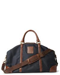 47087b2331d7b ... Bolso baúl de lona azul marino de Polo Ralph Lauren ...