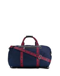 Bolso baúl de lona azul marino de MICHAEL Michael Kors
